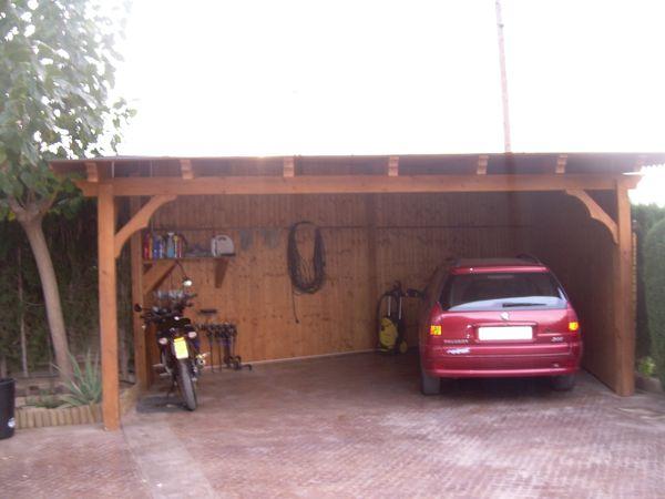 Fabricantes de garajes de madera en alicante murcia - Garajes prefabricados de madera ...